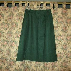 Pendleton Knockabouts wool wrap skirt